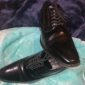 Stacy Adams Waltham Oxfords Leather Cap Toe